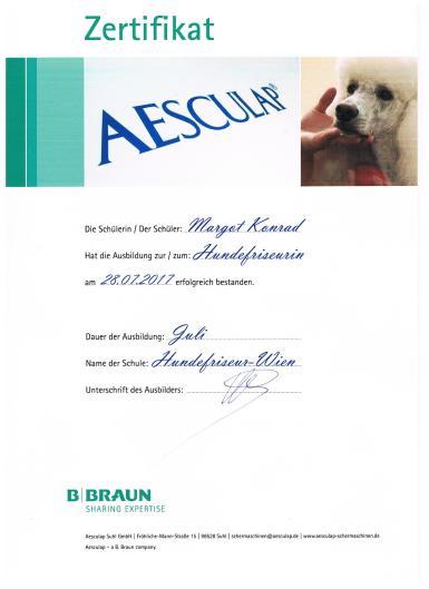 Aesculap zertifikat